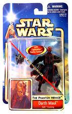 MOC Star Wars TPM EP1 Saga #42 DARTH MAUL Sith Training Hasbro 2002 Japan