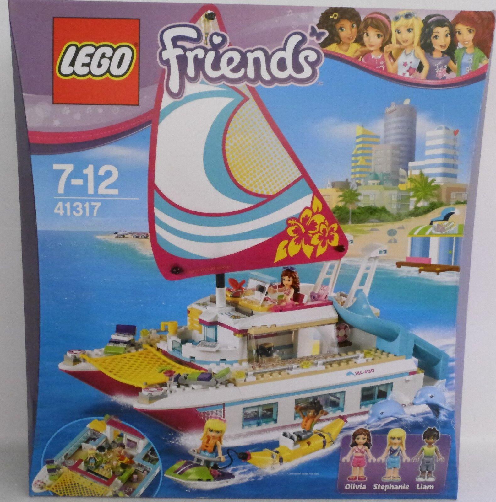 NEUF  LEGO ® Friends 41317 soleil Catamaran Bateau  neuf dans sa boîte