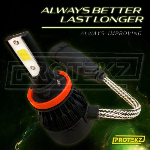 LED Headlight Kit Protekz Bulb H11 6K Low Beam for 2003-2005 SATURN L SERIES