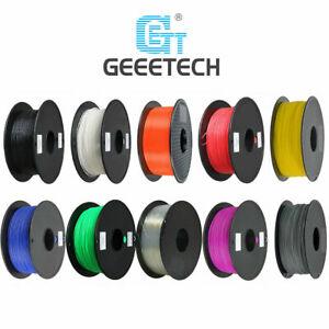 Geeetech 1kg Filament PLA 1,75mm noir / blanc couleur / pour Imprimante 3D