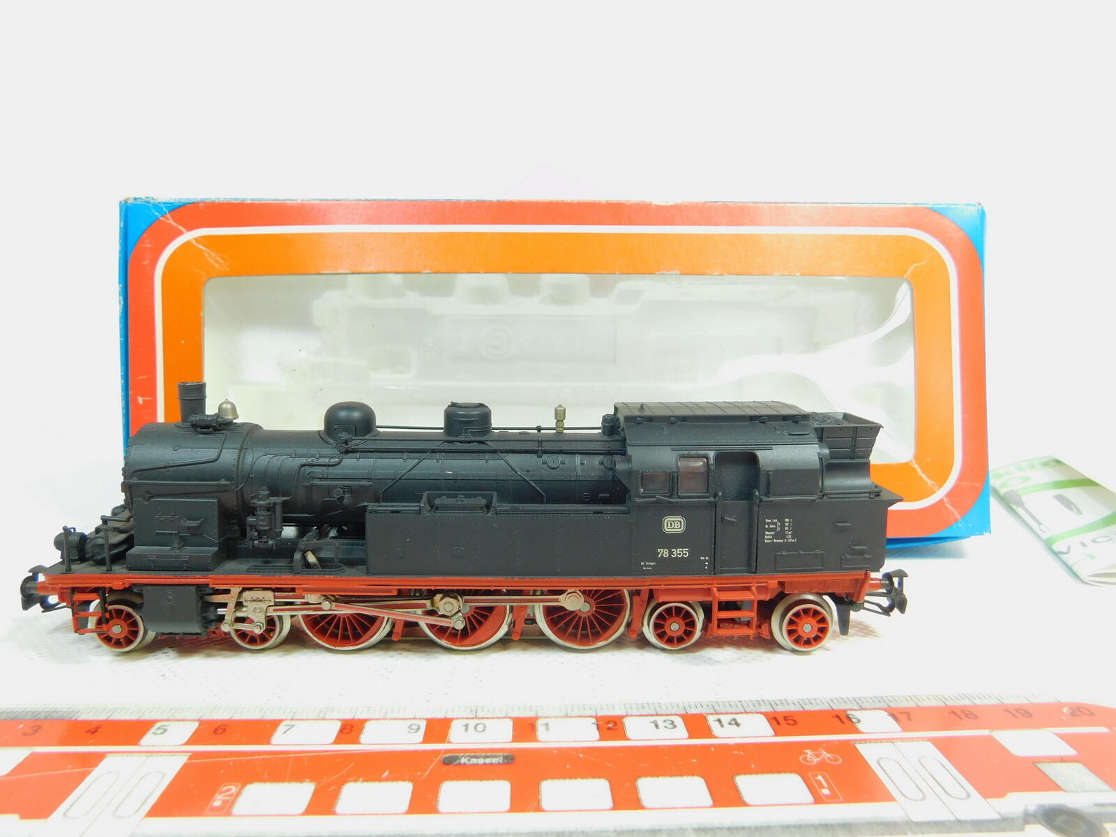 Bl136-1MÄRKLIN H0 AC 3106 Tender   Steam Locomotive Locomotive 78 355 DB OVP