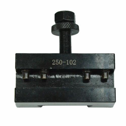 "New 2PCS 6-12/"" AXA 2# Quick Change Tool Post Boring Turning Holder 250-102 USA"