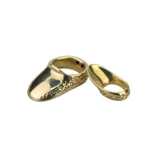 16-23mm Thumb Ring Brass Finger Guard Protector Gear Archery Bow Shooting Target
