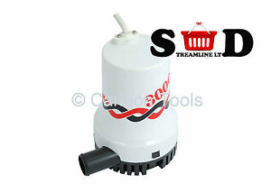 3000GPH-12V-SUBMERSIBLE-BOAT-WATER-DRAIN-FLOW-SIPHON-SUCK-DRAW-BILGE-PUMP-CT1733