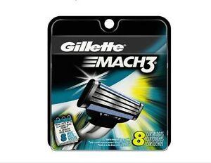 Gillette-Mach3-Men-039-s-Razor-Cartridges-8