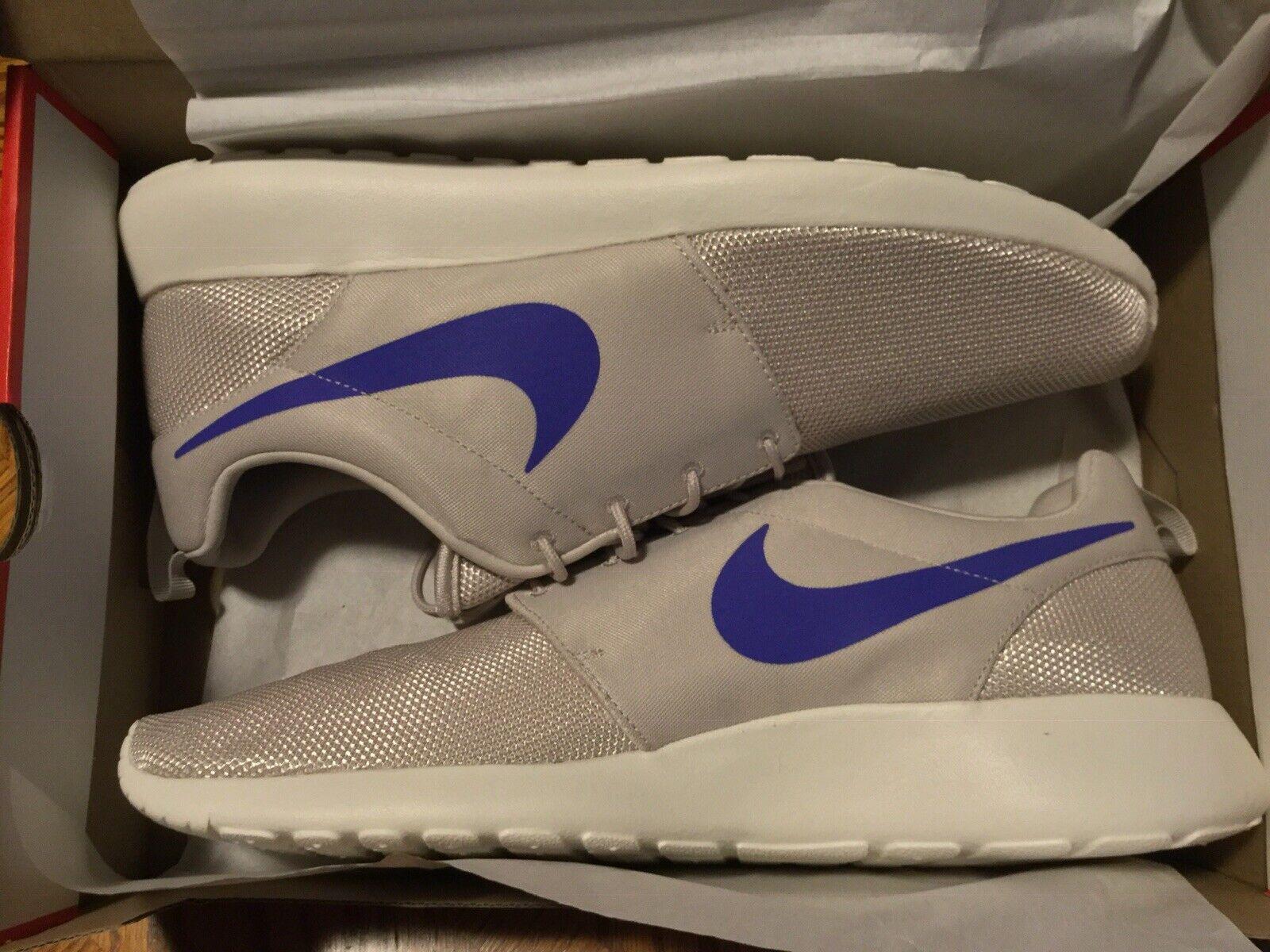 info for c1d46 5fd0a NEW Men's NIKE ROSHE ONE Desert Sand Persian purple Size 13  nqvyya4552-Athletic Shoes