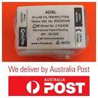 TELSTRA ADSL / ADSL2 FILTER SPLITTER IN LINE C10 C10245M - Free Postage!