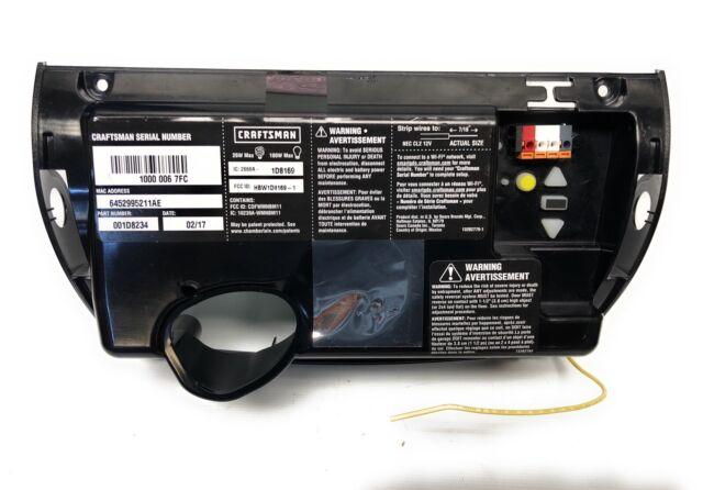 1 2 Hp Garage Door Opener Logic Board 1d7675 139 54985 139 54990 Compatible For Sale Online Ebay