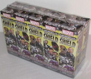Nick Fury Agent Of S. H. I.e. L.d Scellé Booster Brique Marvel Heroclix