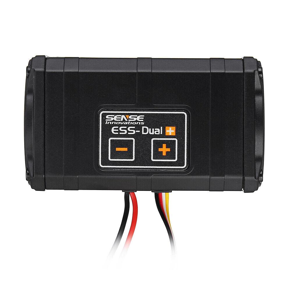 Sense Innovations ESS-Motor Dual 2 altavoces de sonido simulador para Axial SCX 10 II