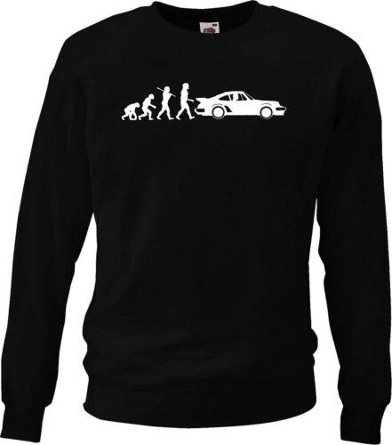 Evolution of Man sweatshirt Classic 911 Turbo.