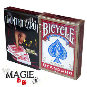 Carte hantée + Jeu Bicycle - The Haunted card - Tour de magie