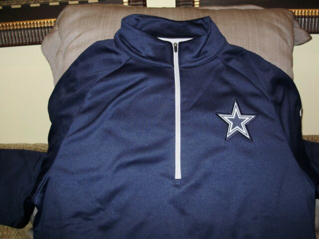 28cdecaa8 NFL Dallas Cowboys Nike Dri-fit Therma Circuit 1 2 Zip Golf Jacket ...