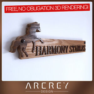 PERSONALISED-OAK-ADDRESS-SIGN-CUSTOM-ENGRAVED-OUTDOOR-WOODEN-BARN-HOUSE-PLAQUE