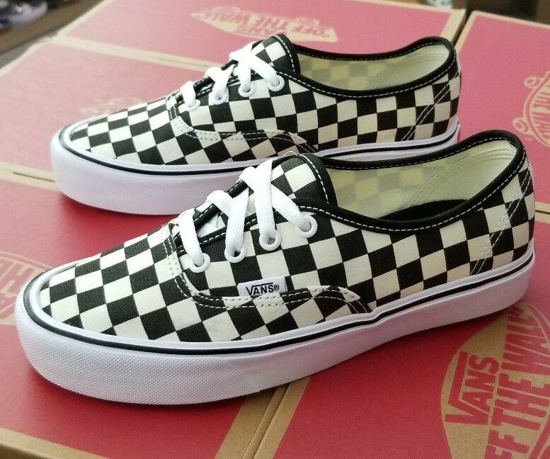 VANS AUTHENTIC LITE CHECKERBOARD noir   blanc MEN VN0A2Z5J5GX