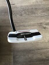 "New Odyssey O-Works White/Black/White #1W Putter 34"" RH w/ Super Stroke 2.0 Grip"