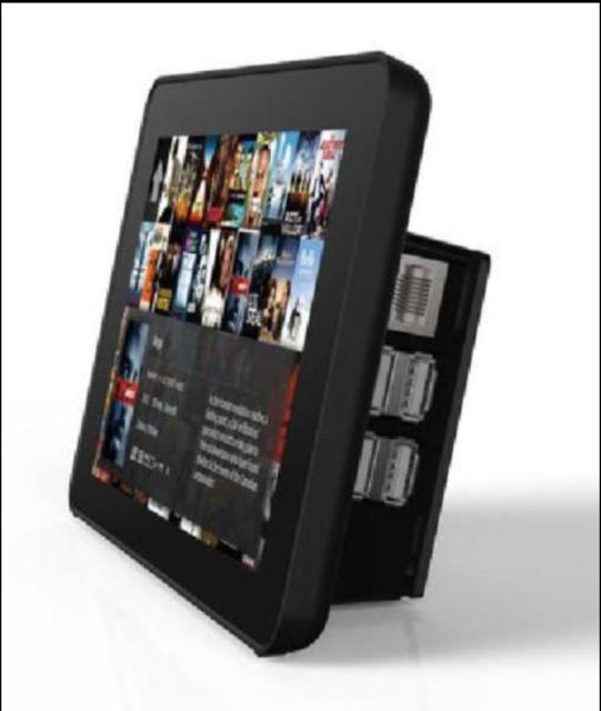 Longruner 7 inch Raspberry Pi Touch Screen Case Holder for Raspberry Pi 3 2 Mode
