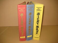 Micky Maus Sammelmappen/Sammelordner 1-3 von 1963