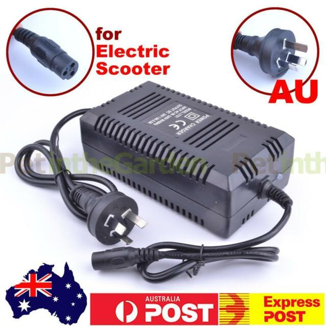 24V Battery Charger For Electric Scooter ATV Razor E300 E90 Go Kart AU Plug
