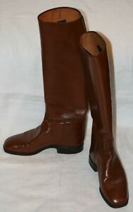 Reitstiefel-VINTAGE-RIDING-BOOTS-7-5-leather