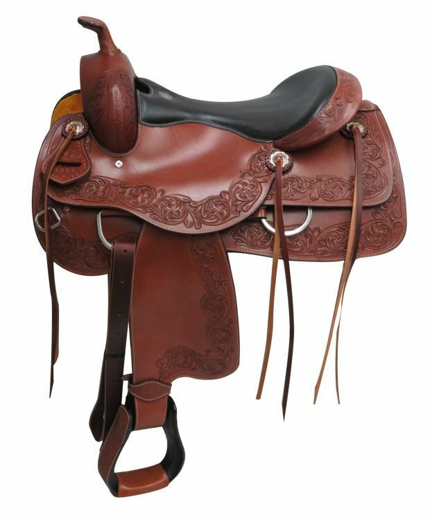 16 Circle S Pleasure style saddle.