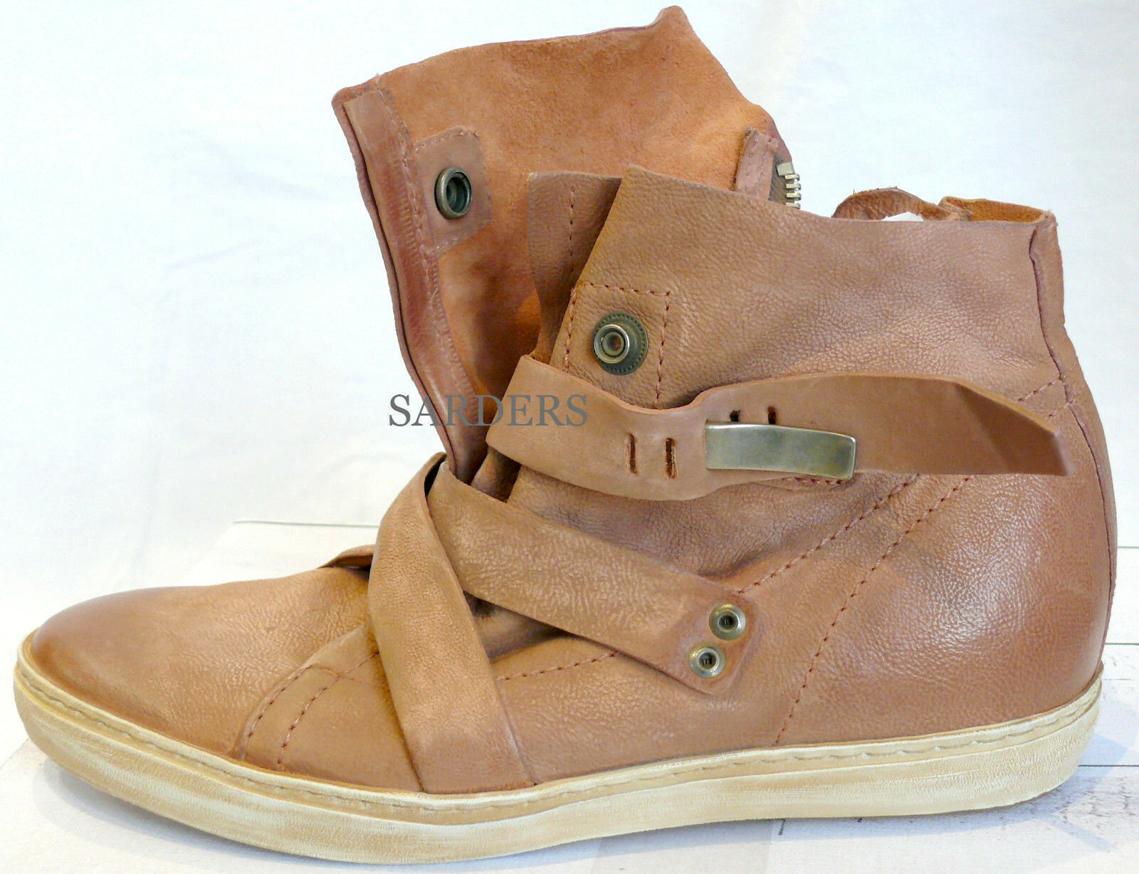 AIRSTEP  Stiefelette 36 37 40 41 42 Echt LEDER Boots pink Antik Stiefel NEU