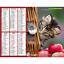 Calendrier-2021-La-Poste-Almanachs-PTT-35-References-Divers-Animaux-Paysages miniature 2