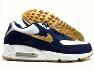 the best attitude 89f0c b6f2a Image is loading NIKE-AIR-MAX-90-ID-OBSIDIAN-BLUE-WHITE-