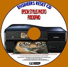 EPSON PX830FWD PRINTER WASTE INK PAD COUNTER ENGINEERS REPAIR RESET PC CD NEW