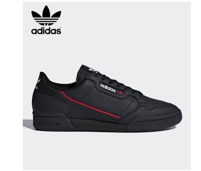 Adidas Originals CONTINENTAL années 80 noir fashion Baskets, Chaussures B41672-