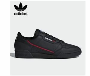 Details about Adidas Originals Continental 80's Black Fashion Sneakers,Shoes B41672