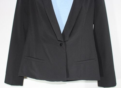Udvidet Button Pxs Bcbg Petite Back Cuts Black One W Jacket On r 212 Cotton 1TxT8wq