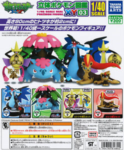Takara-Tomy-1-40-Pokemon-Zukan-XY03-Capsule-Toys-GASHAPON