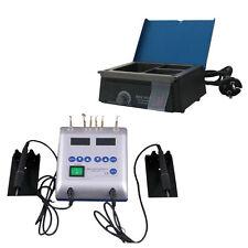 Dental Lab Electric Waxer Carving Pen & Analog Wax Pot Heater Equipment 3 well