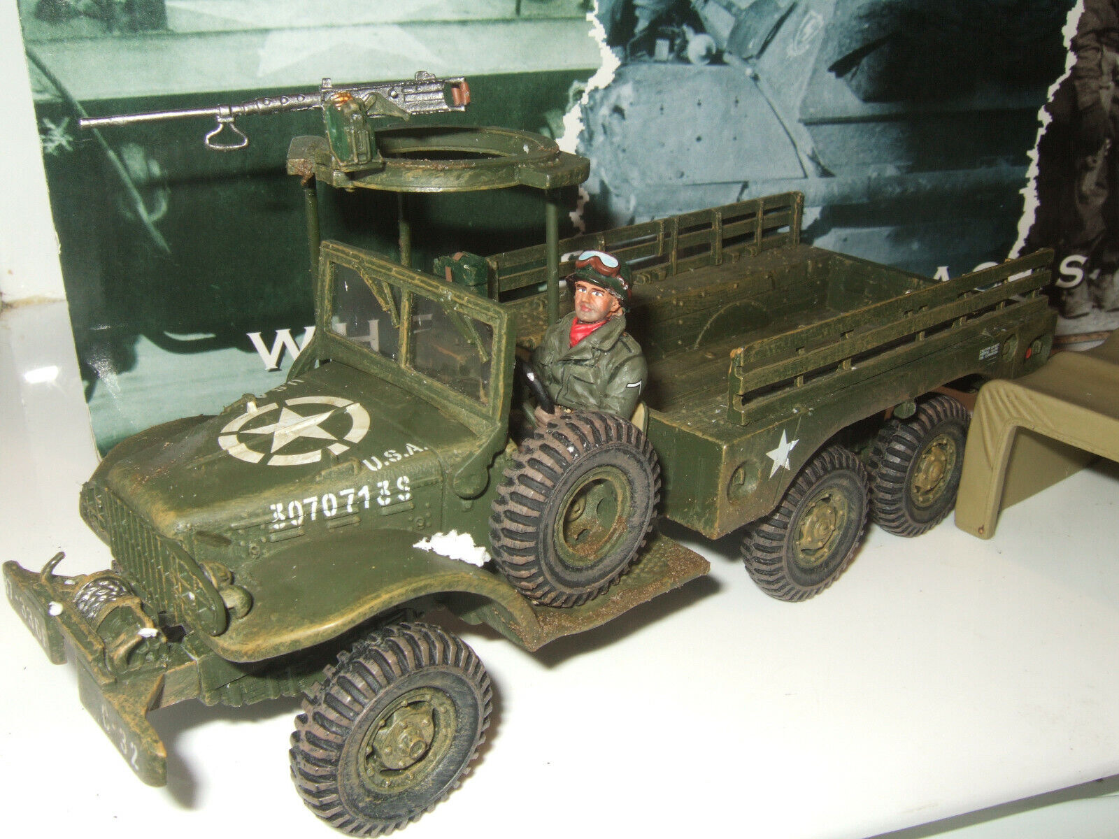 Rare King & Country BBA 38 Battle of of the Bulge US Dodge 1 1 2 Ton Truck in 1 30