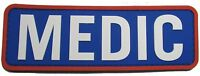 3d Pvc Medic Xl Paramedic Emt Ems Rescue First Responder Velcro® Color Patch Us