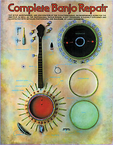 Complete-Banjo-Repair-Book-Manual-Learn-Play-Sandberg