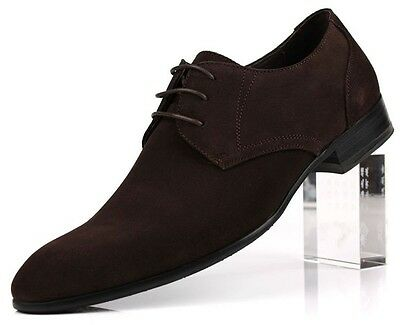 new men's suede cow leather shoes dress/formal business