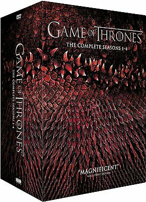 "GAME OF THRONES COMPLETE SEASON 1-4 DVD BOX SET 20 DISC R4 ""NEW&SEALED"""