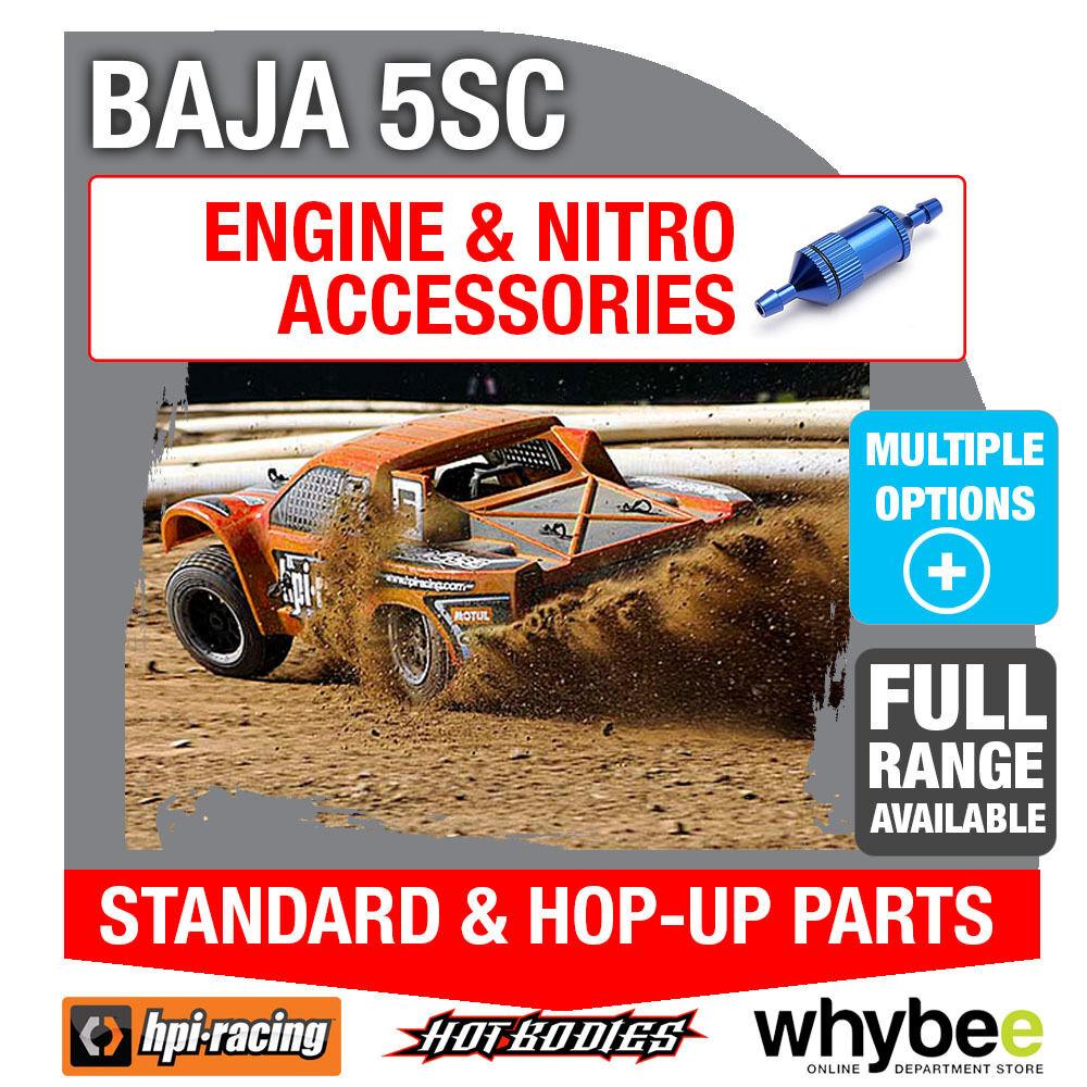 HPI BAJA 5SC [All Engine Parts] Genuine HPi Racing R C Standard & Hop-Up Parts