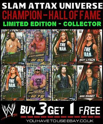 Junkyard Dog Hall Of Fame Trading Card WWE Slam Attax