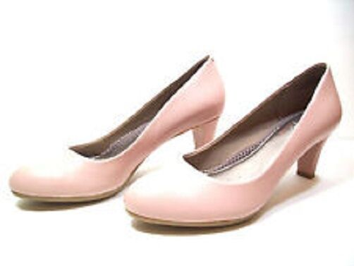 Easy Spirit Neoma leather pump light light light PINK anti gravity 2.5   heels sz 9 WIDE New d586ea
