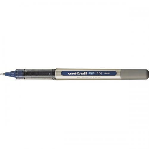 uni-ball Tintenroller eye fine UB-157 Metallclip Faber-Castell Farb Auswahl