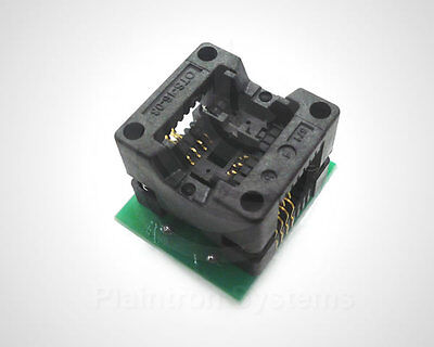 SMD Programmier-Adapter IC-Sockel SO8 (SOIC8) auf DIP 2,54mm SOIC-8 Programmer
