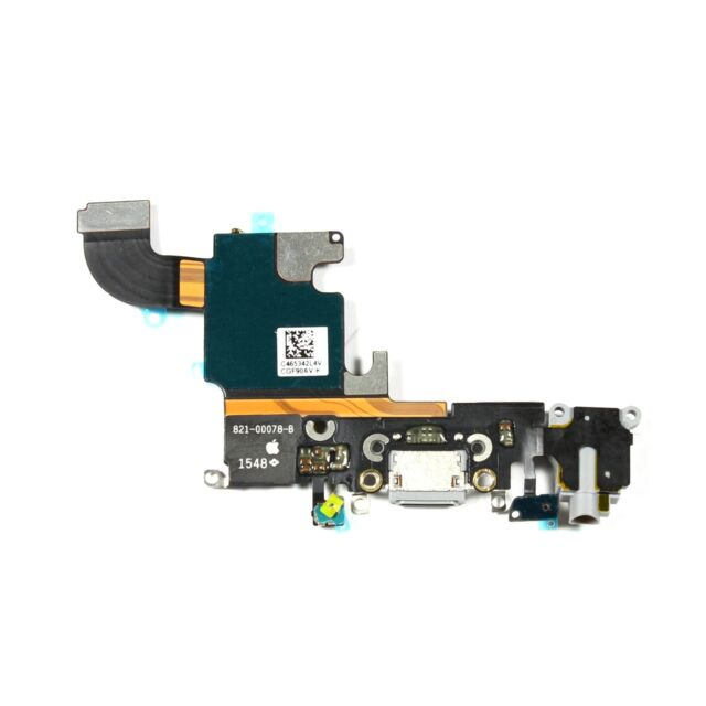 reputable site 80522 7e818 OEM Apple iPhone 6S Lightning Charging Port Dock Connector Flex Cable Gray