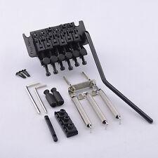 Original Floyd Rose Tremolo w/ R3 Locking Nut FRT1000 System Bridge In Black