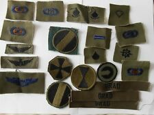 lot of  21   American   military  patches   for wear or collector lot