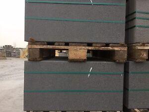 "Terrassenplatten B Ware Schwarz Basalt Imprägniert ""Bakumś"