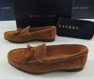 bd09c3f11d Ralph Lauren Purple Label Carney Snuff Suede Leather Loafer Driving ...
