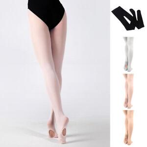 DI-Women-Girl-Convertible-Tights-Dance-Stocking-Footed-Socks-Ballet-Pantyhose-C